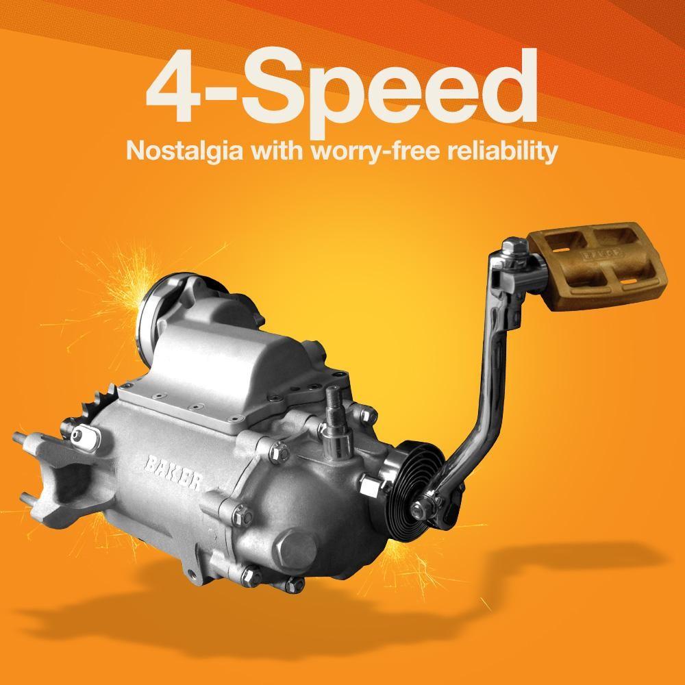 harely 4 speed parts kicker maindog