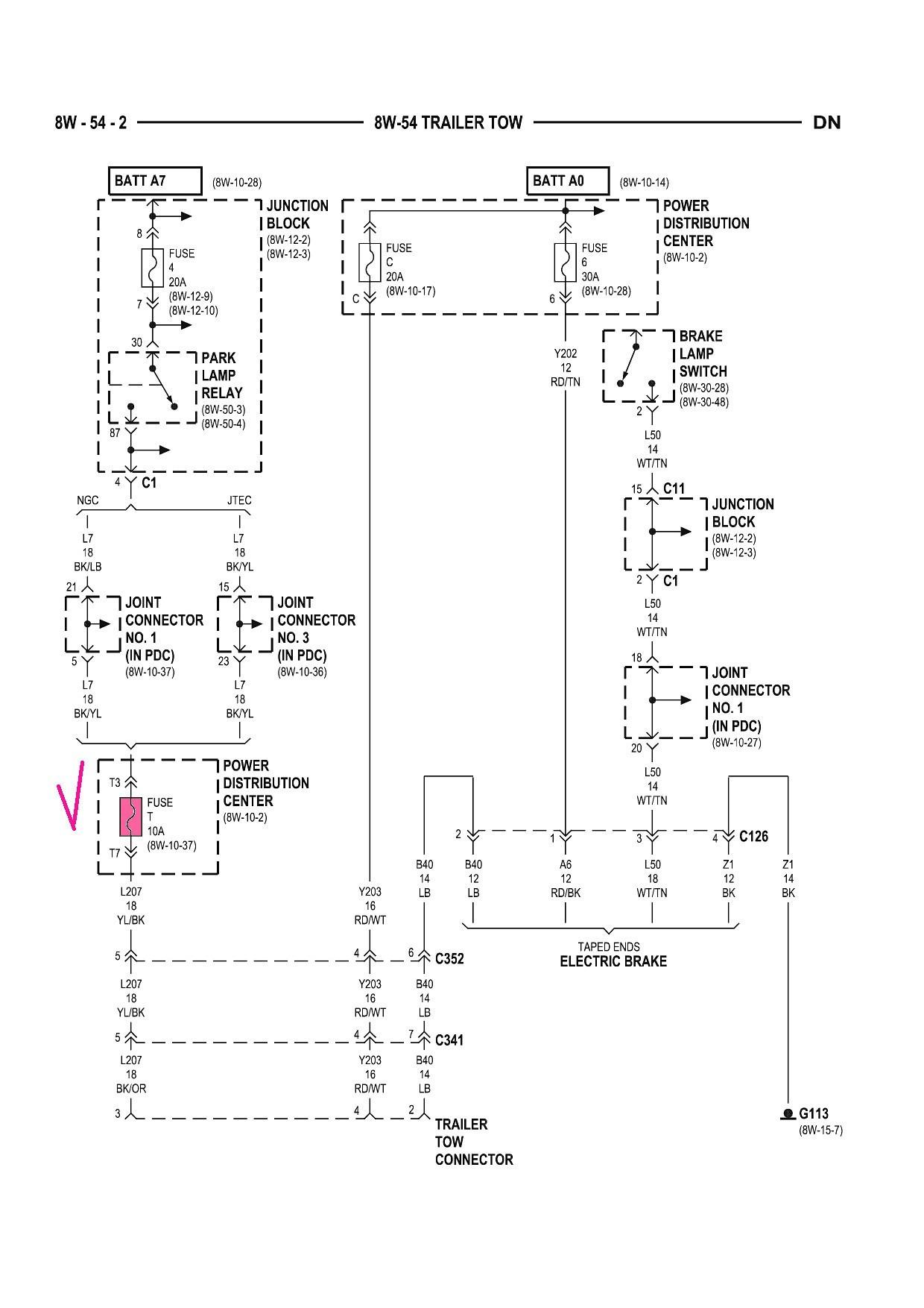 2003 dodge ram 2500 trailer wiring diagram 2008 dodge ram 1500 trailer brake wiring diagram inspirationa 2003 dodge trailer wiring harness diagram wiring 7b