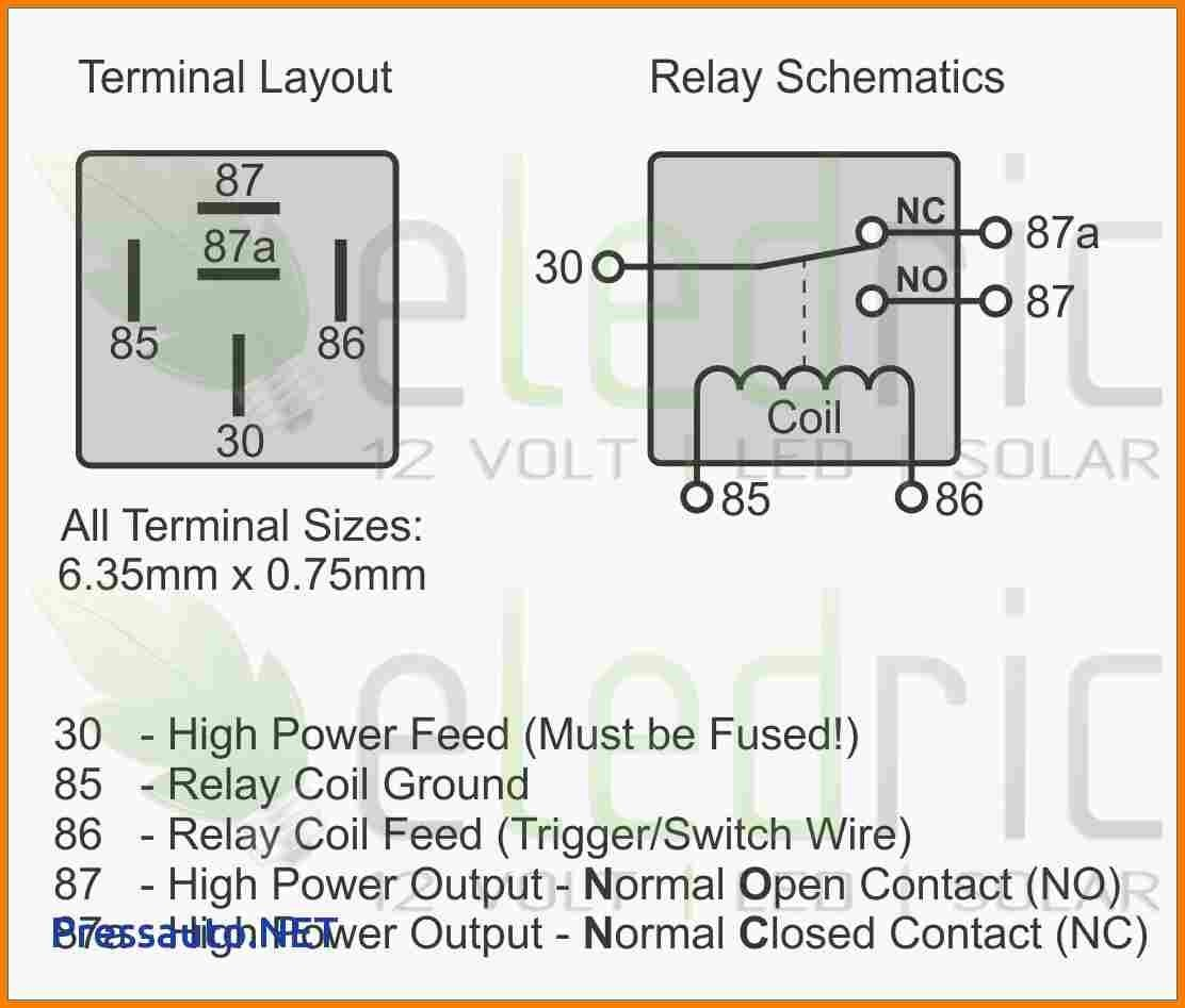 simple 5 pin relay wiring diagram for a five techteazer