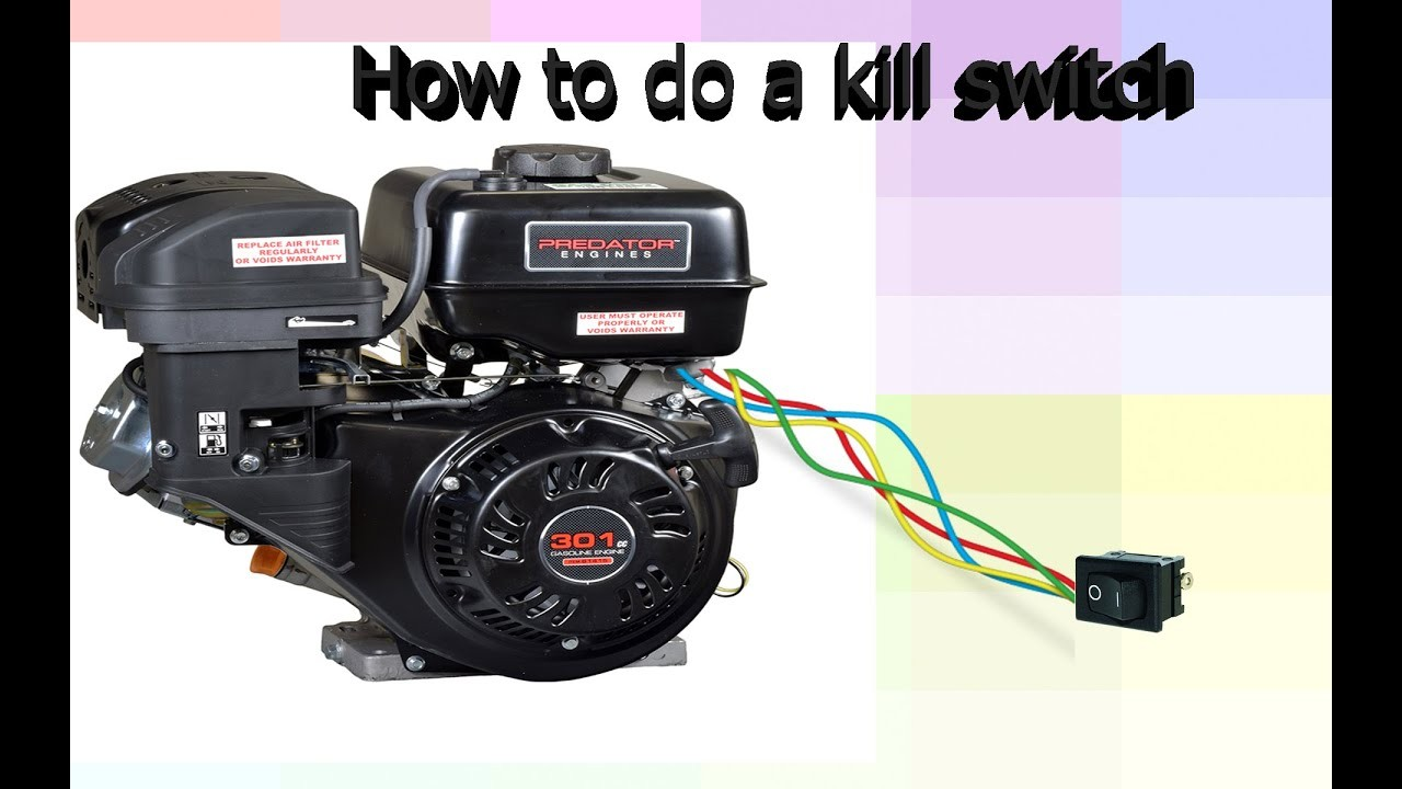 Predator 212 Go Kart Kill Switch Installation Manual Guide