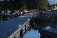 Aluminum Boat Lights Unique solar Deck Lights 10pk
