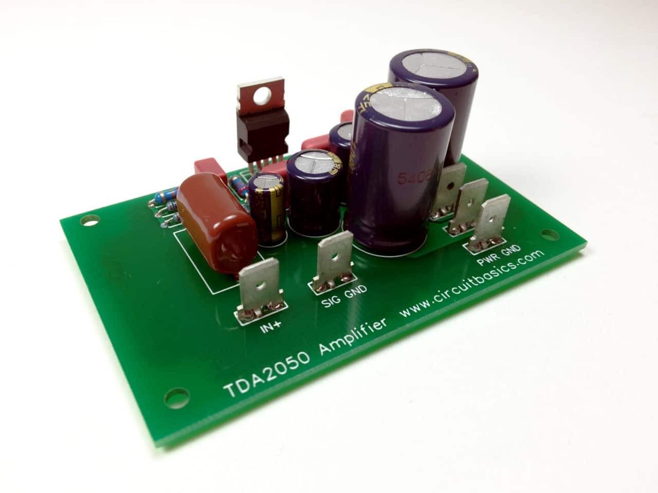 plete TDA2050 Amplifier Design and Construction Assembled Amp