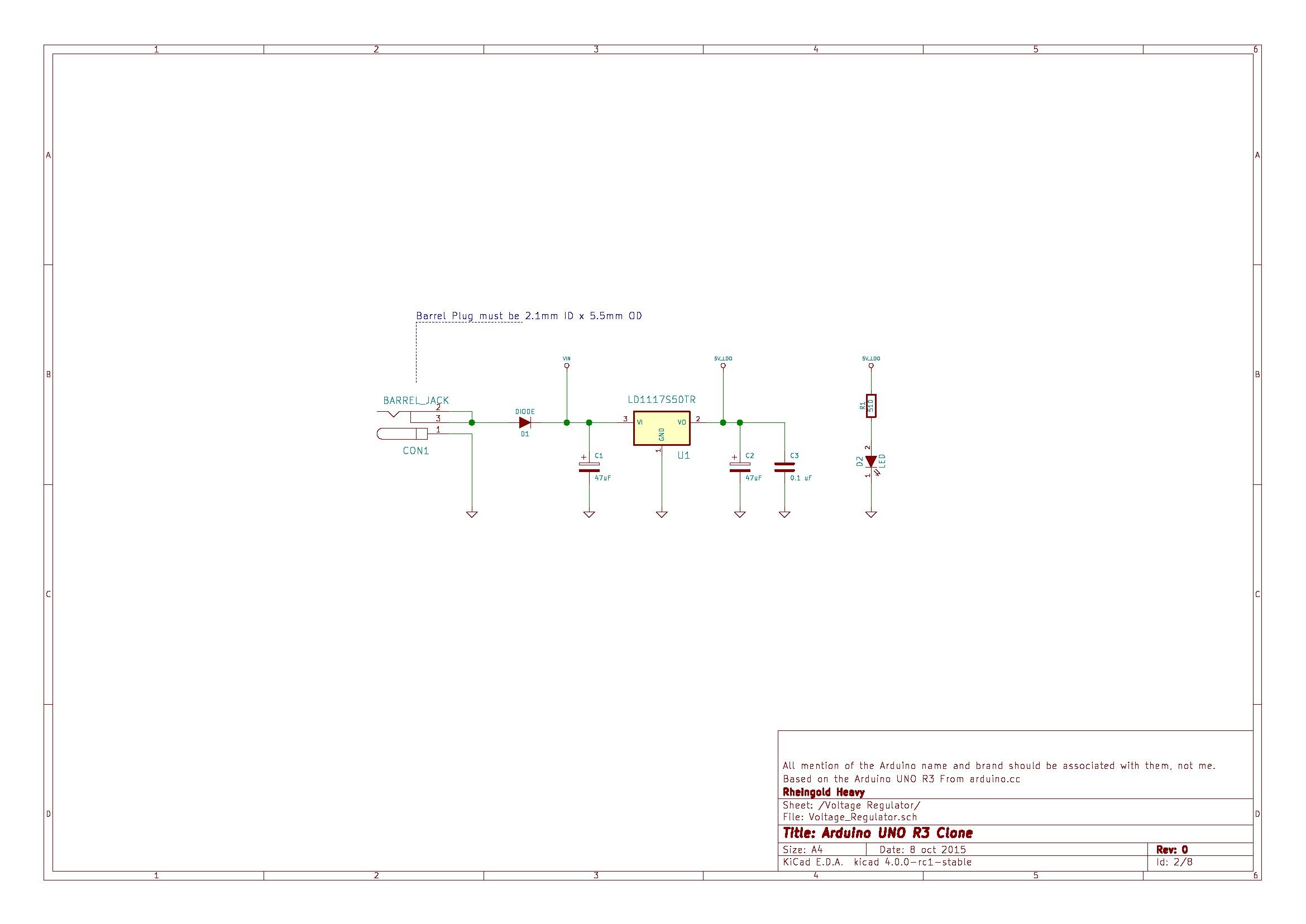 Arduino Uno R3 From Scratch Page 2 Voltage Regulation