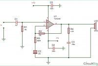 Circuit Digest.com Tda2040 Awesome 25 Watt Audio Amplifier Circuit Diagram Using Tda2040