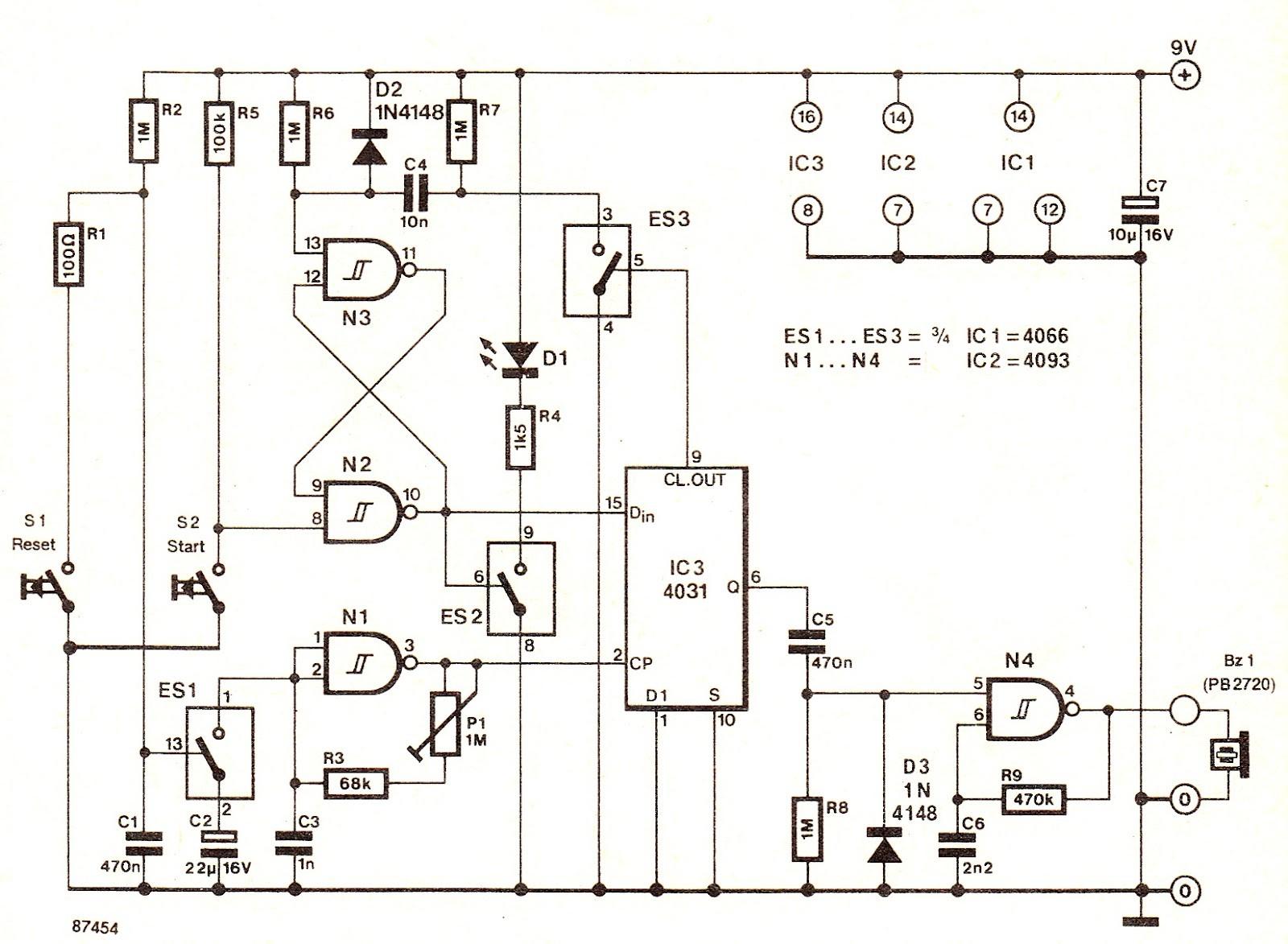 water heater timer circuit