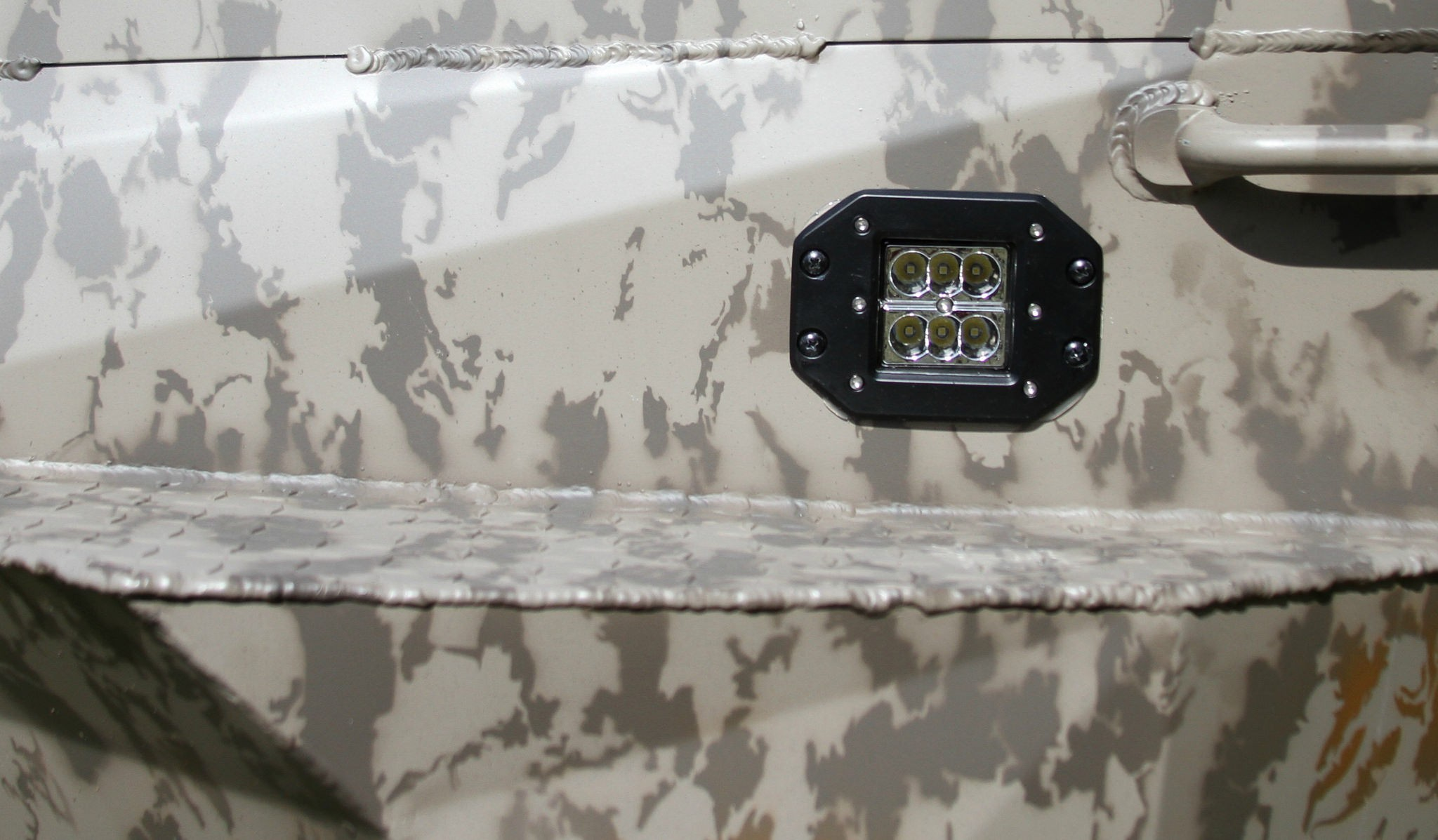 Rear LED Recessed Lights