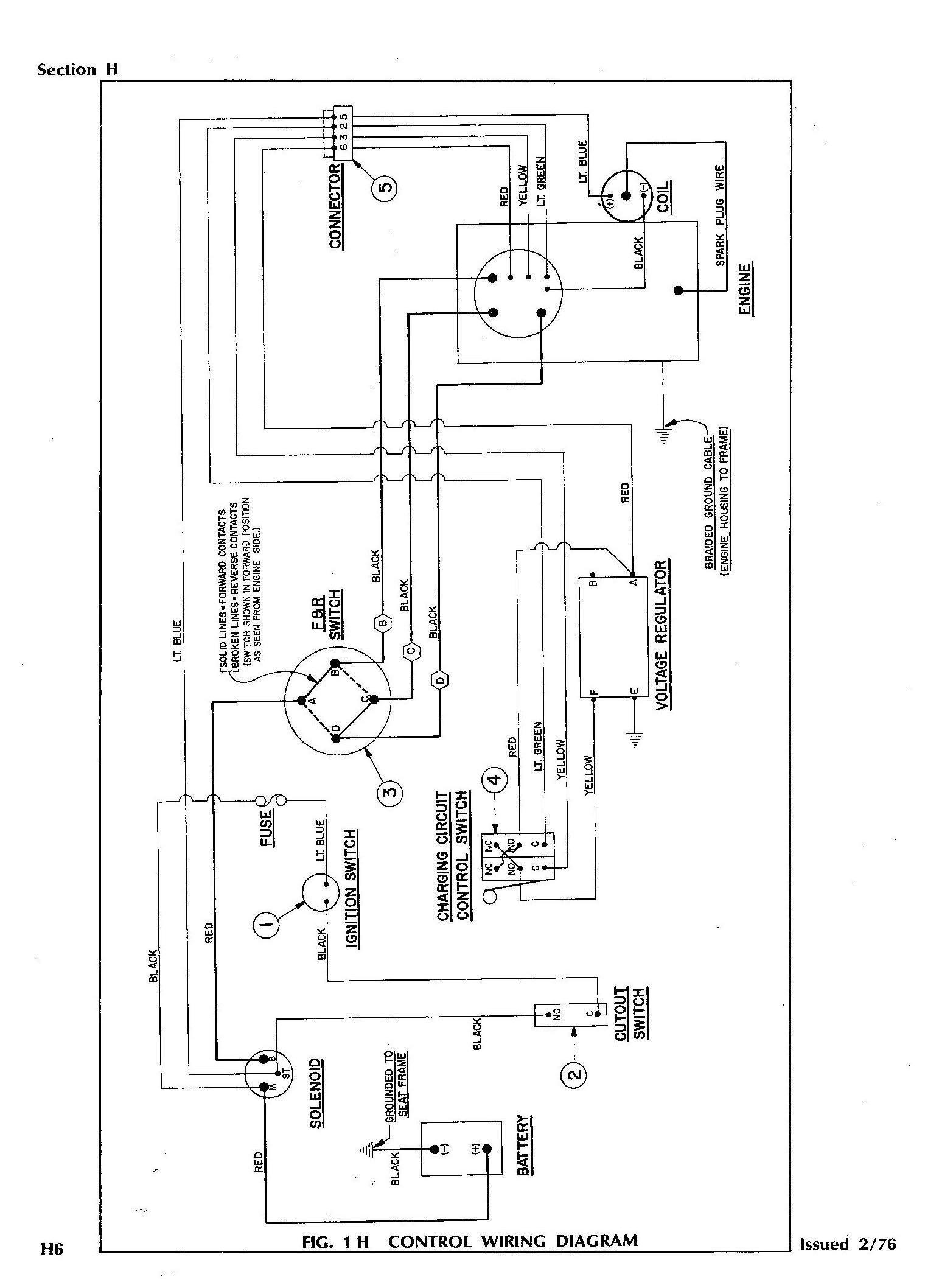 98 ez go gas wiring diagram wiring diagram