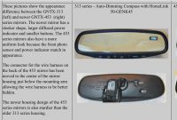 Gentex 313 Vs 453 Inspirational Gentex 453 Mirror Swap Homelink Temp Pass Auto