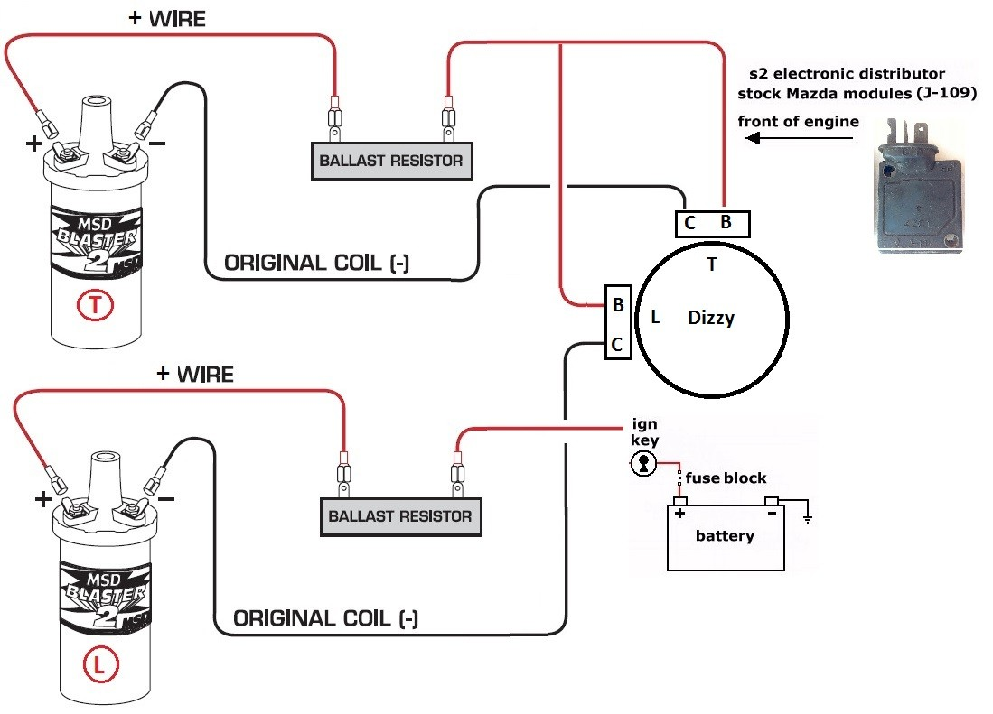 ford coil wiring wiring diagram tutorial