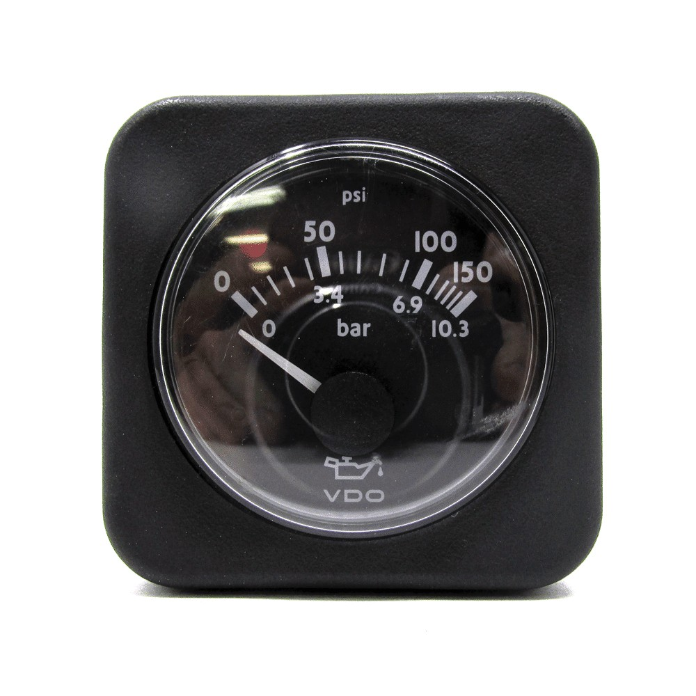 vdo oil pressure gauge 0 150