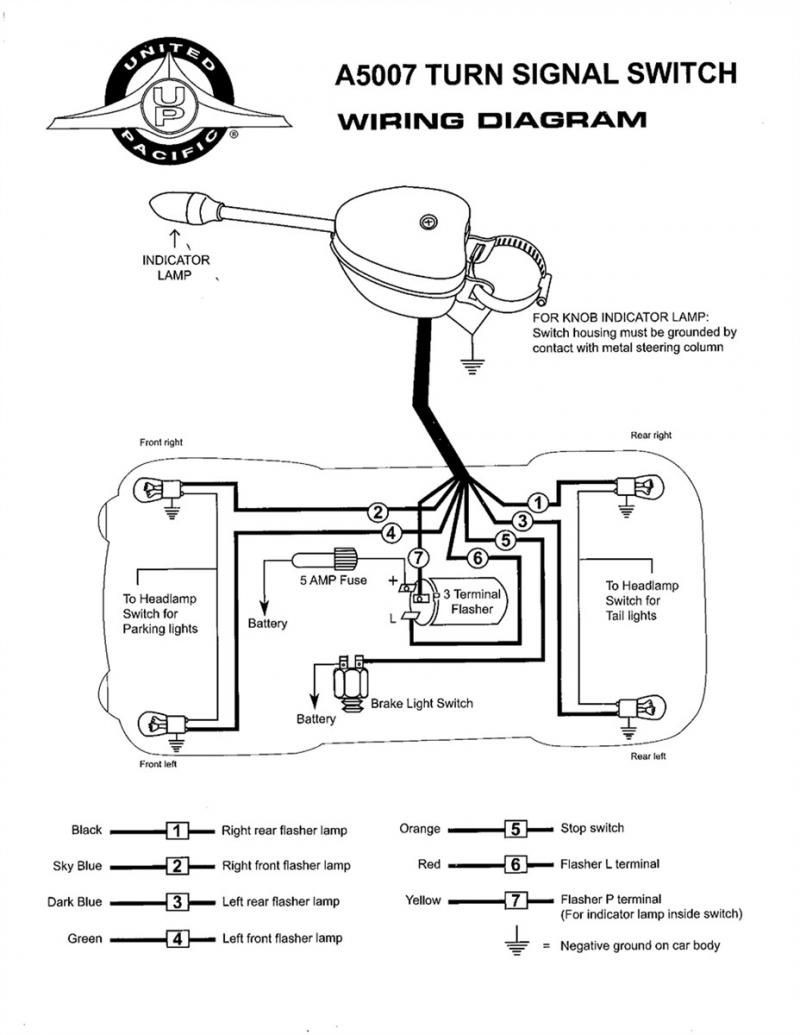 How To Wire Up Turn Signal Flasher 3 Prong