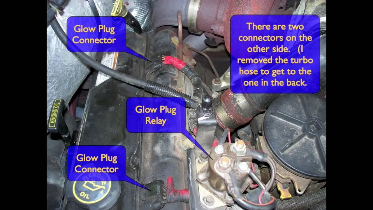 Idi Glow Plug Controller Diagram