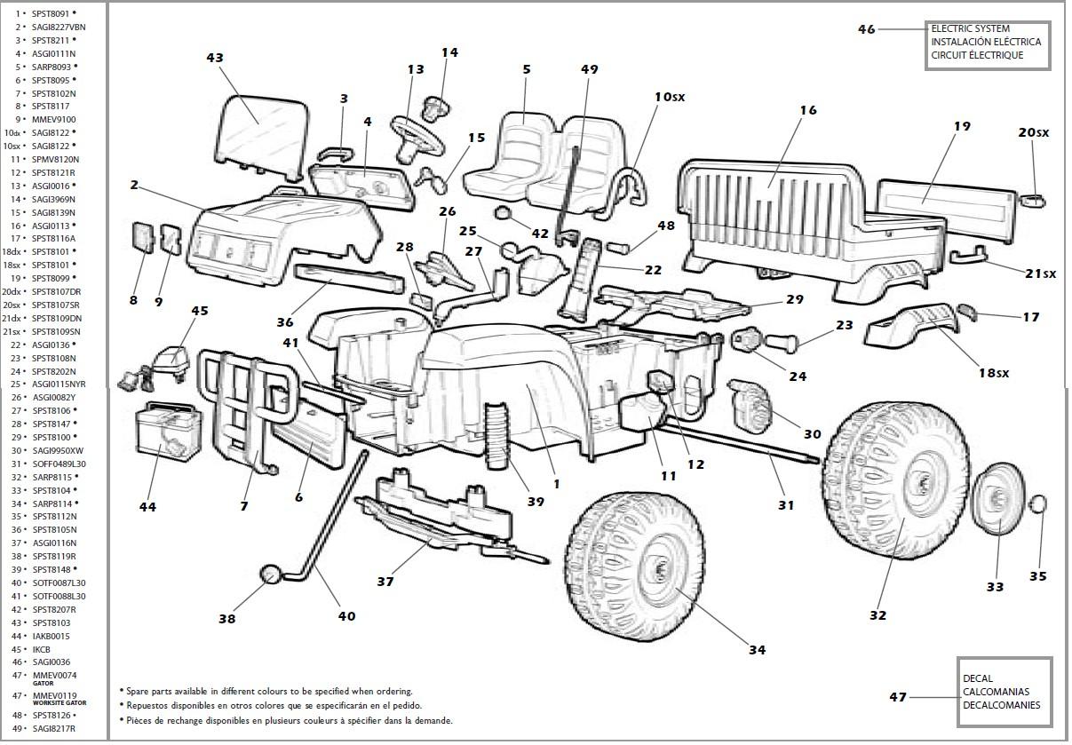 IGOD0004 IGOD0033 parts diagram
