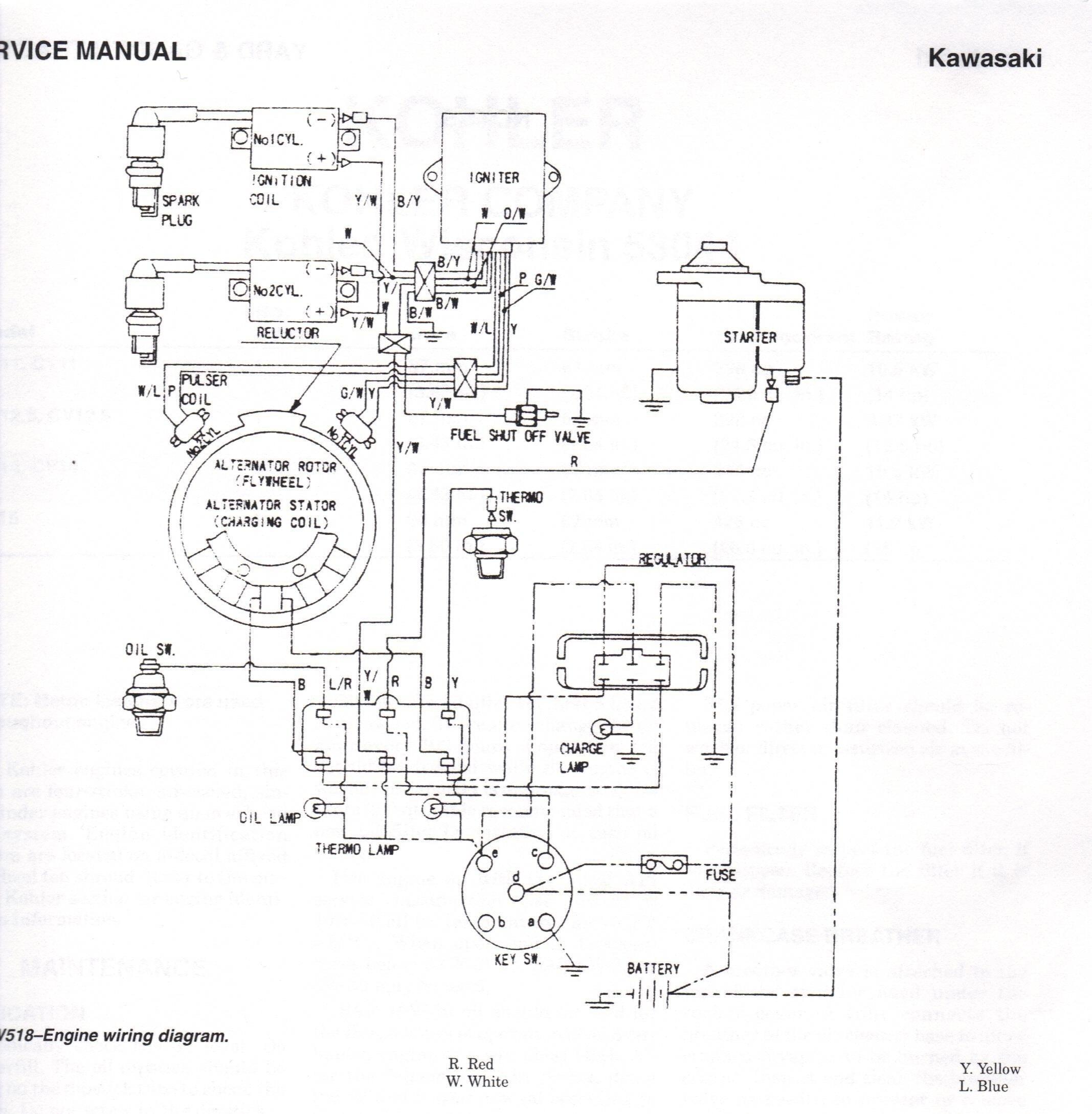 John Deere Gator 4x2 Electrical Schematic