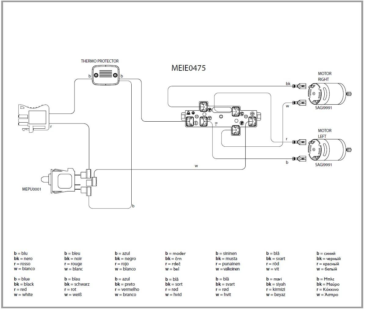 IGOD0032 IGOD0035 electric diagram