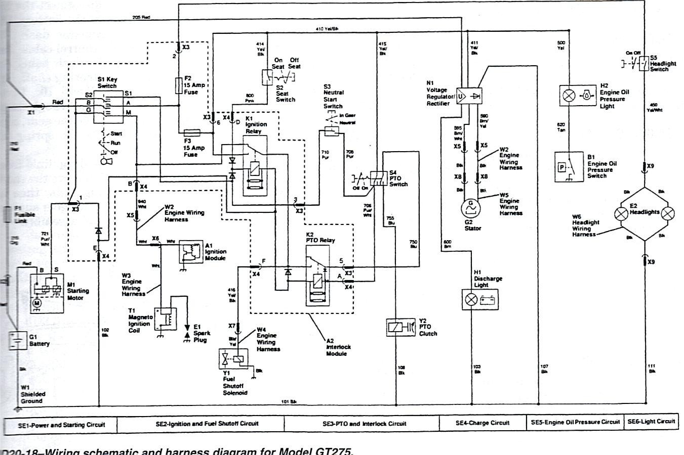 john deere 345 electrical schematic inspirational free image about wiring diagram as well as john deere lt150 of john deere 345 electrical schematic 1