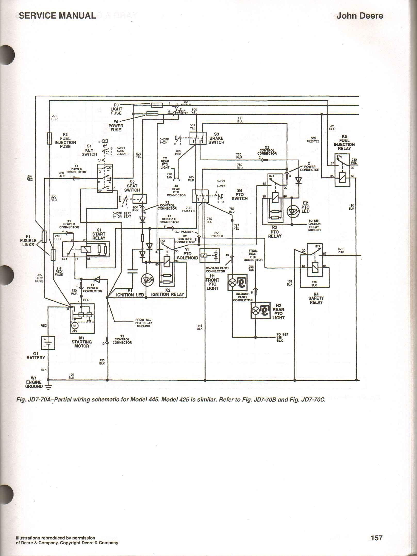 wiring diagram for z425 john deere wiring diagram m6