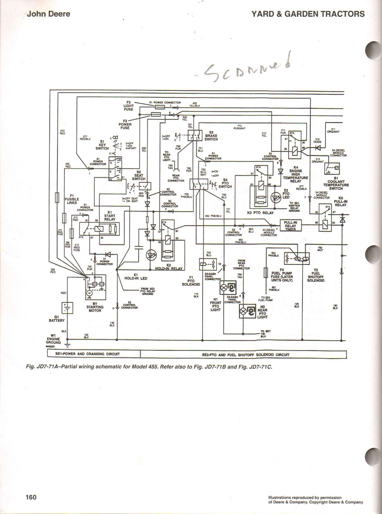 john deere 105 wiring diagram wiring diagram