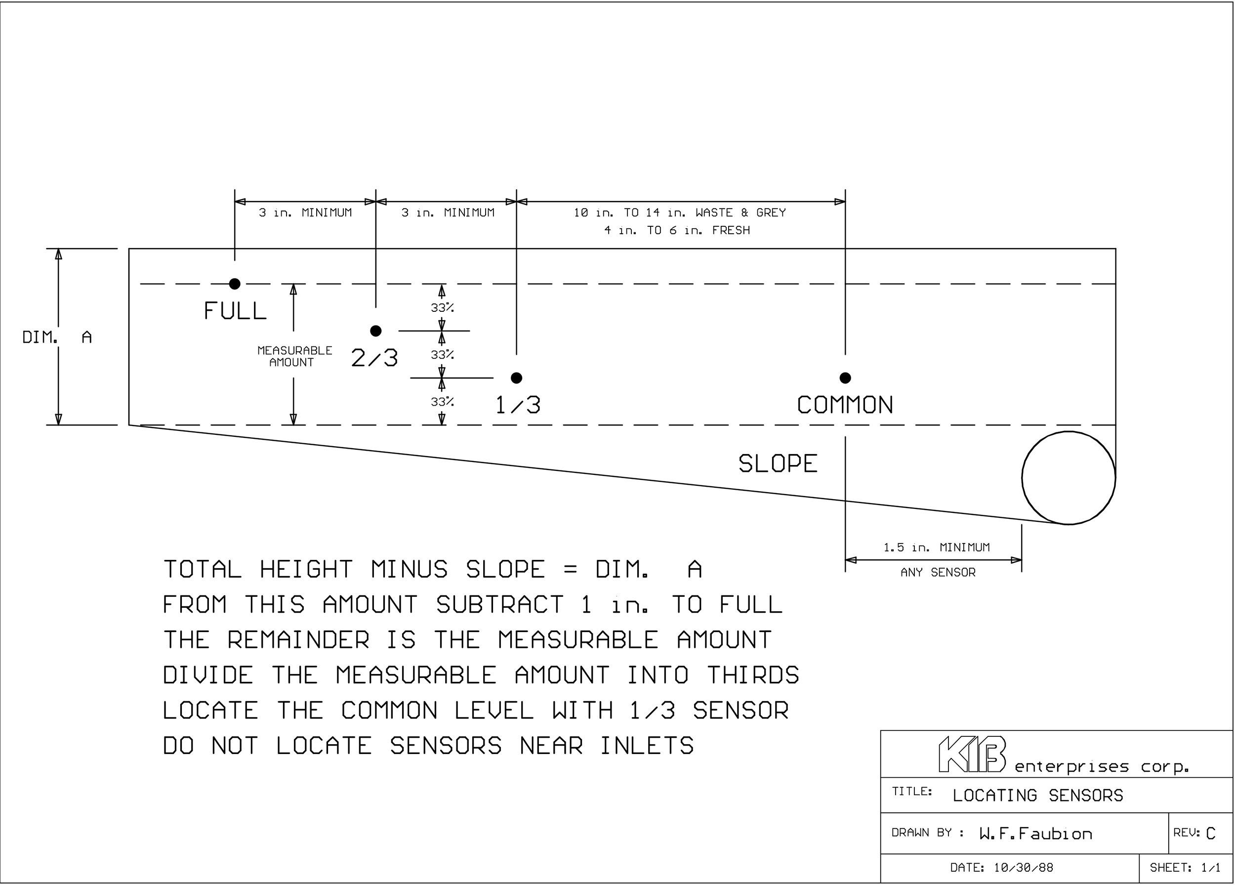 rv tank sensor wiring diagram everything wiring diagram