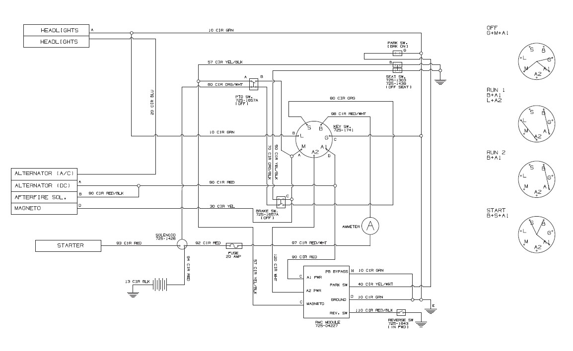 Massey Ferguson 175 Wiring Diagram