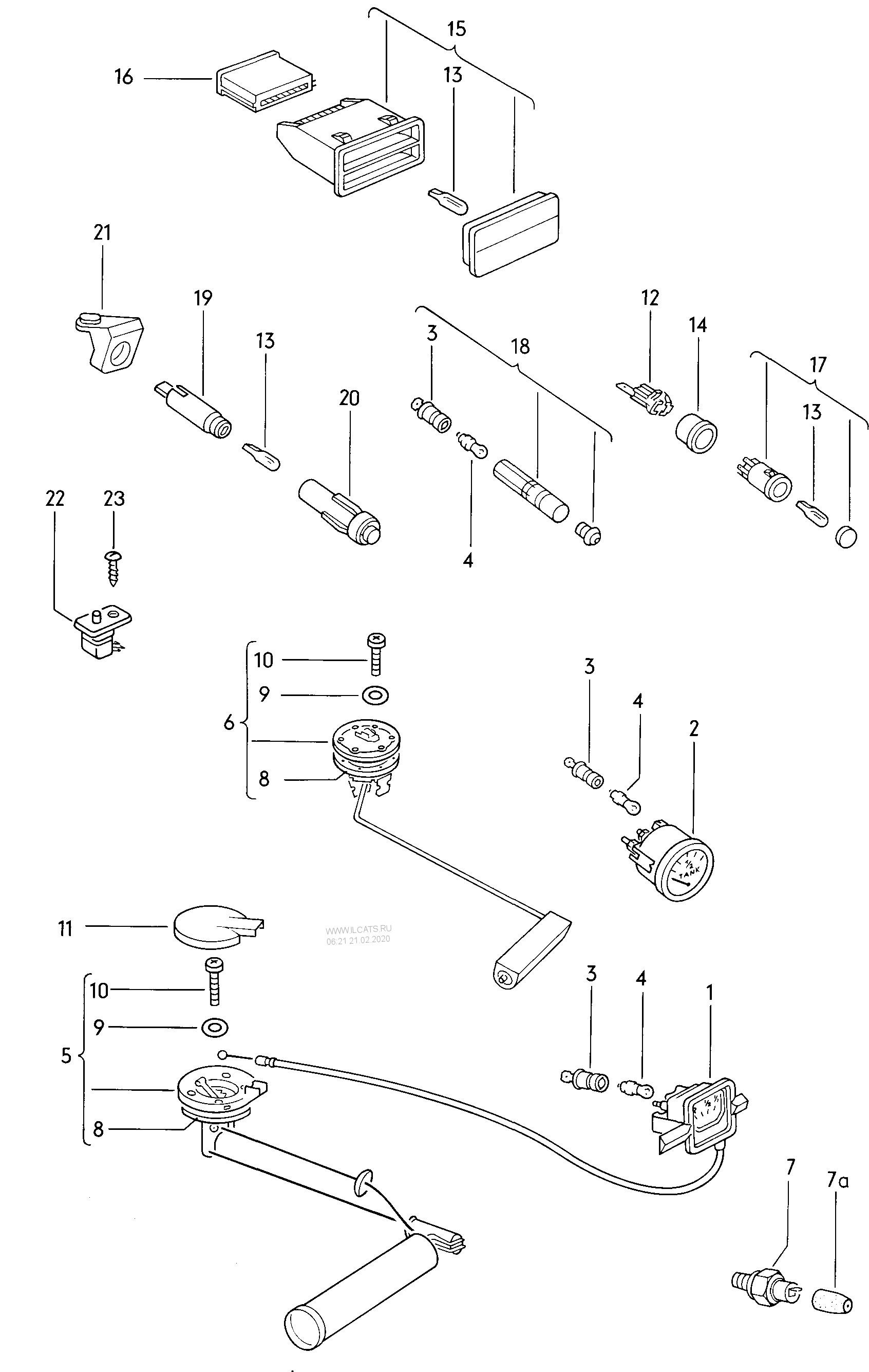sender for fuel gauge oil pressure switch warning light for dual