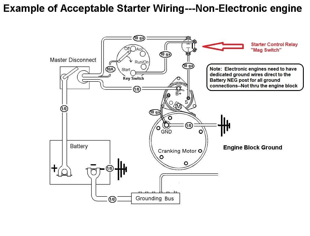 Pump Start Relay Wiring
