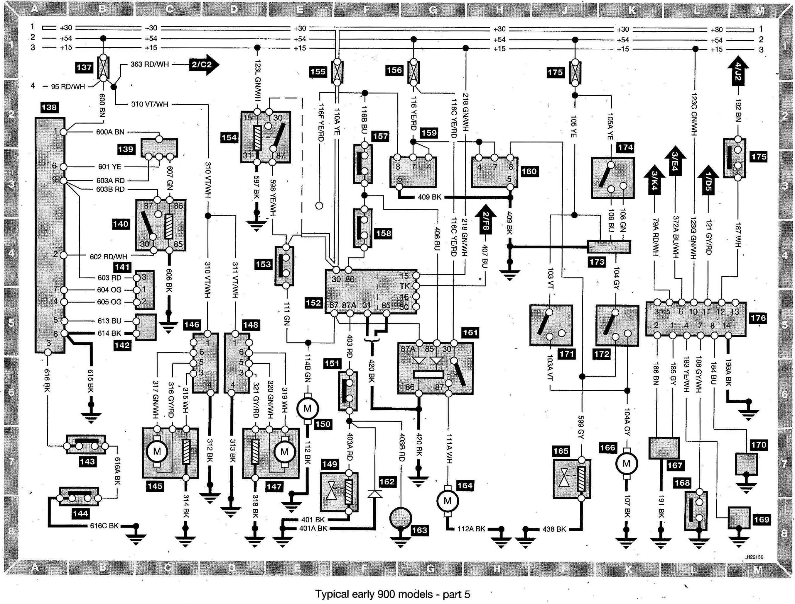 S Wiring diagram early models part 5