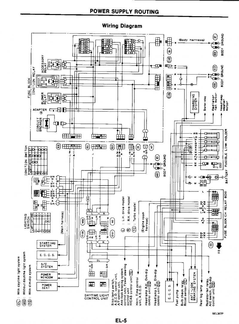 1990 300zx wiring diagram wiring diagram database