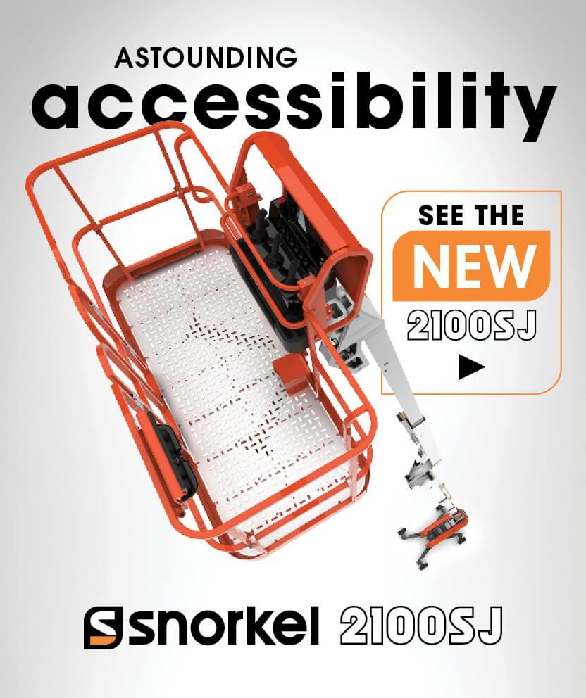 Snorkel 2100SJ Astounding Accessibility