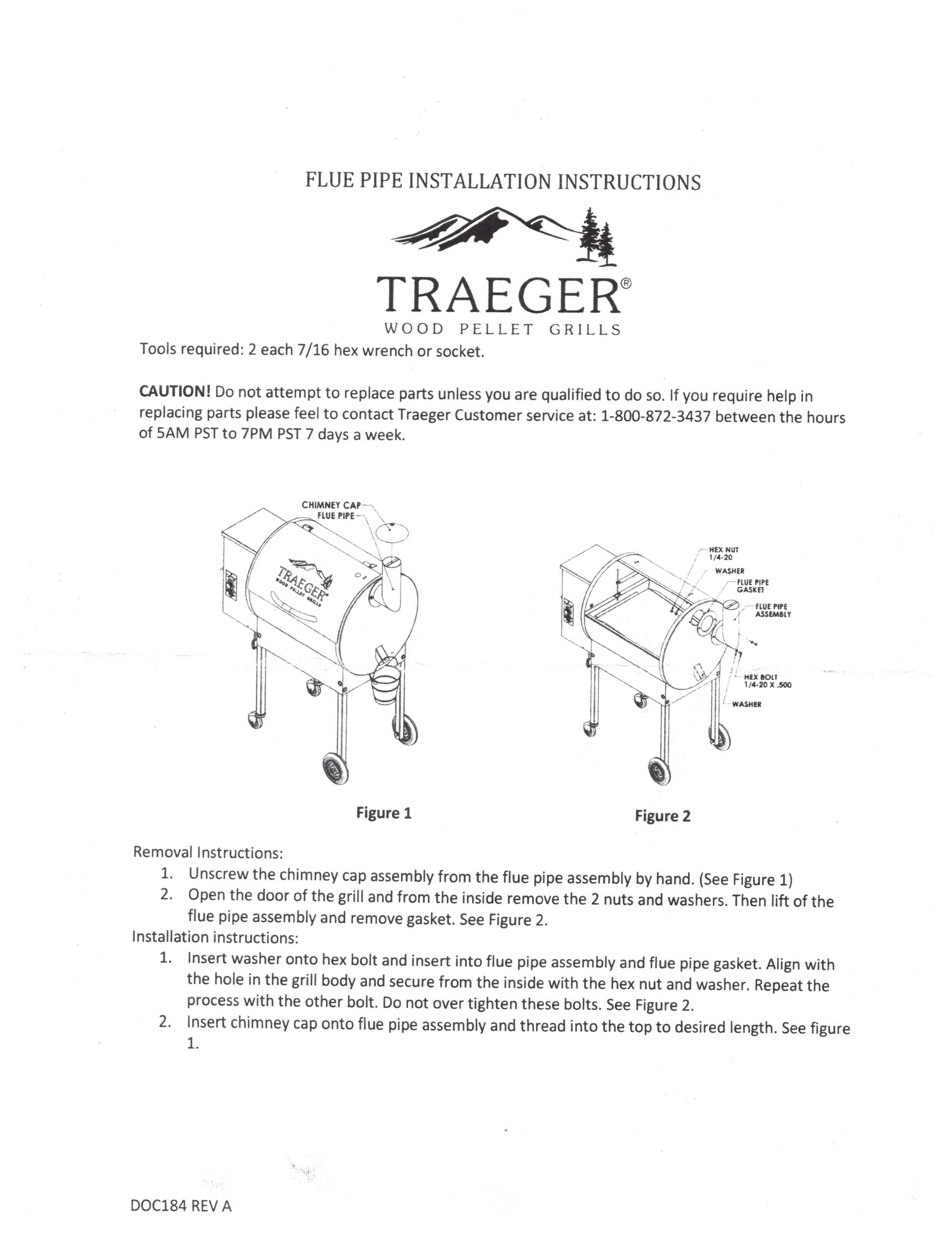 Installation Instructions for FAB309