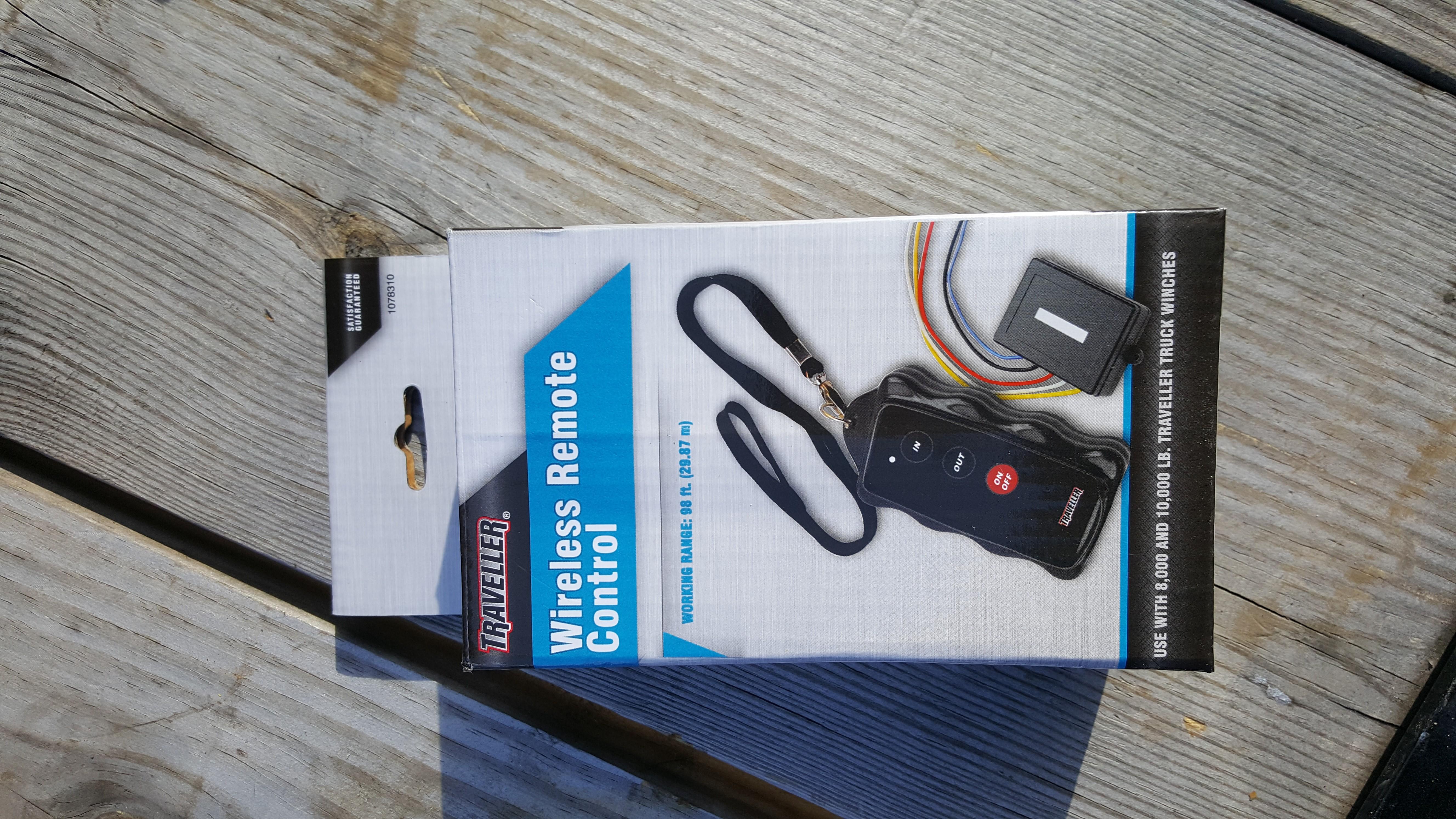 d wireless winch remote control yankee cheap