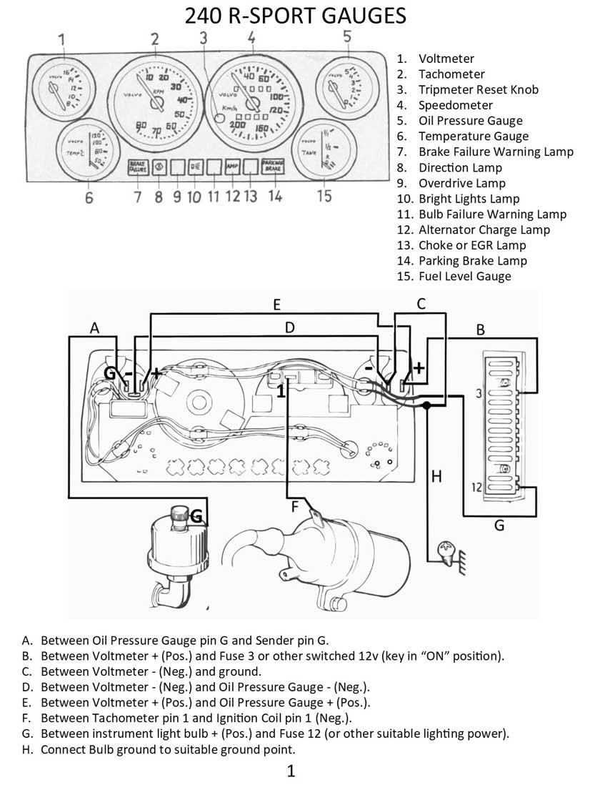 Vdo Gauge Wiring Diagram