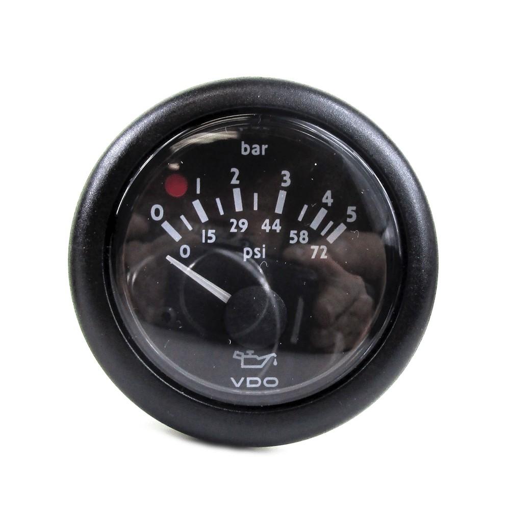 QSM11 VDO 12V Oil Pressure Gauge
