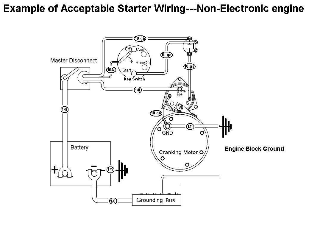 Starter Mag Switch Wiring