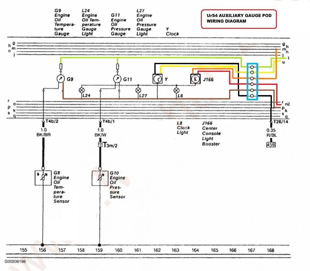 Quattroworld Com Forums 20vt Oil Pressure Sender Wiring Diagram