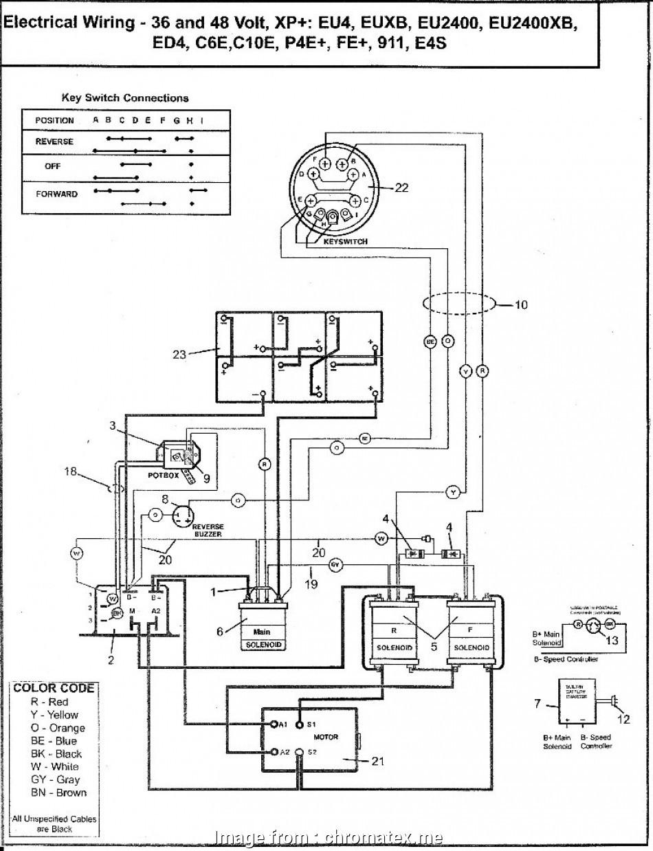 yamaha golf cart starter wiring diagram popular ez go golf cart