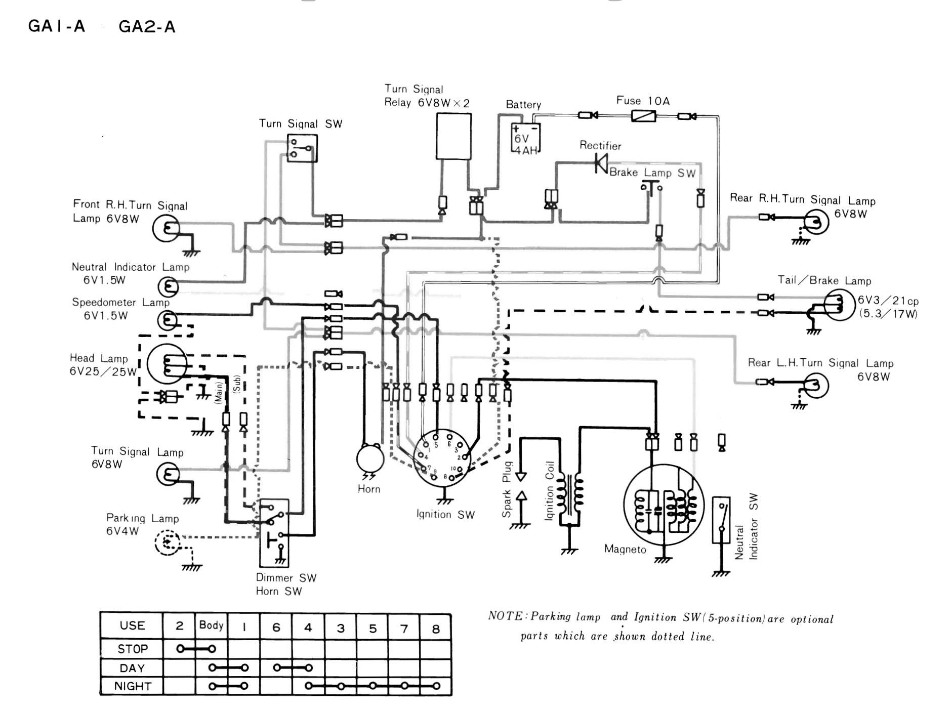 dans motorcycle various wiring systems and diagrams