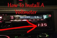 Wiring A Voltmeter In A Car New How to Install A Car Audio Voltmeter