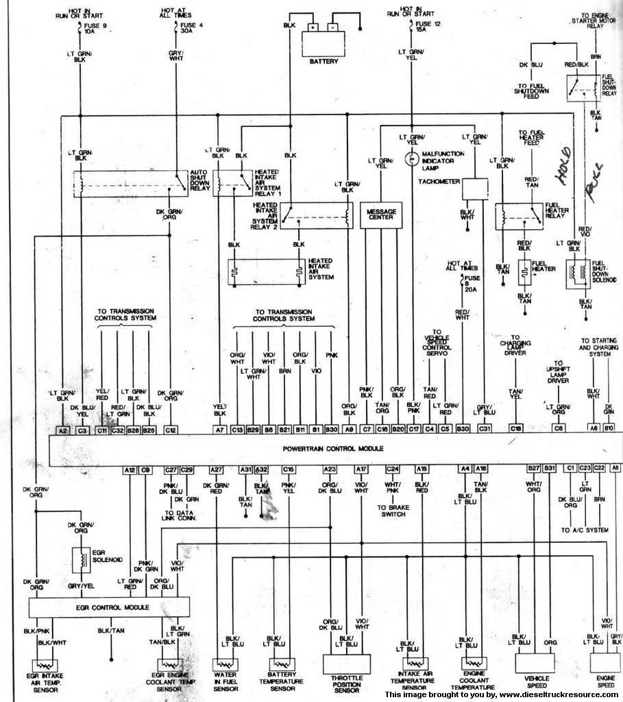 Ram wire diagram