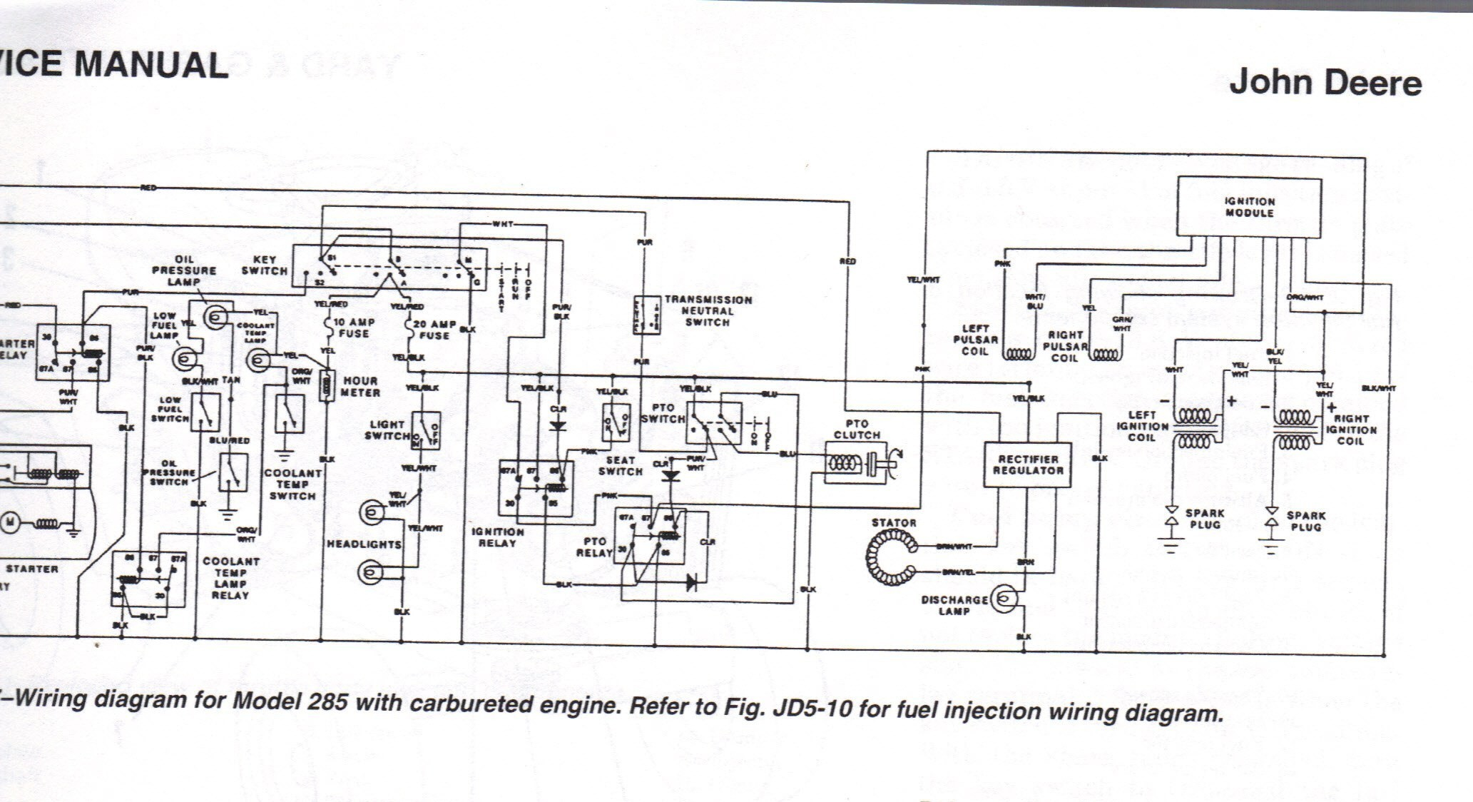 john deere 318 garden tractor wiring diagram fresh within or 316