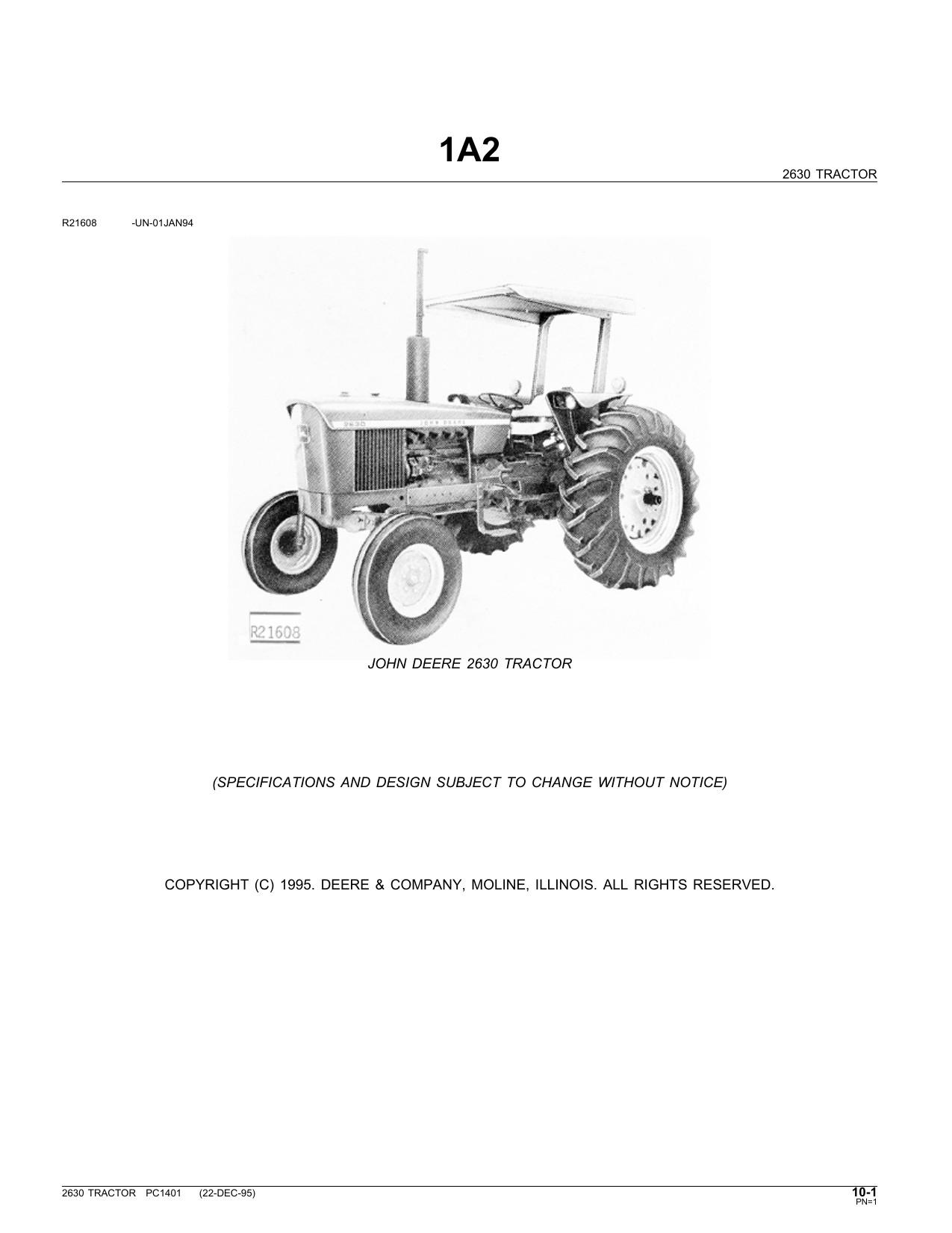 John Deere 2630 Wiring Diagram  John Deere 2755 Wiring Diagram  John Deere Tractor Manual 2040