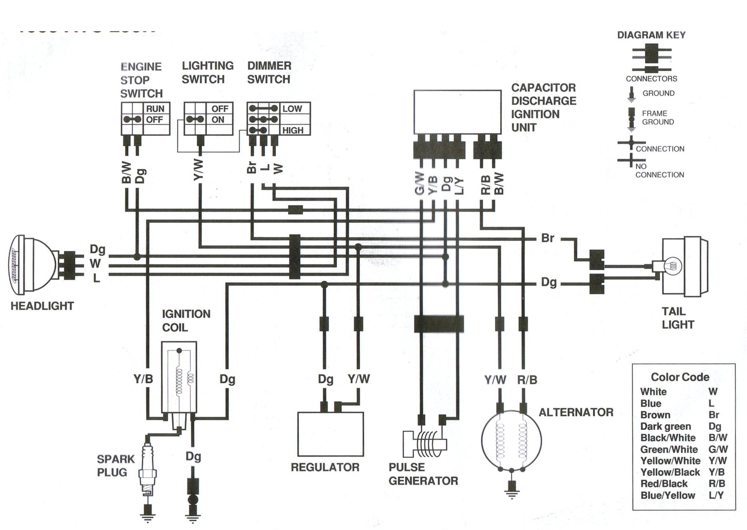 2038d 250r wiring diagram atc250rx85
