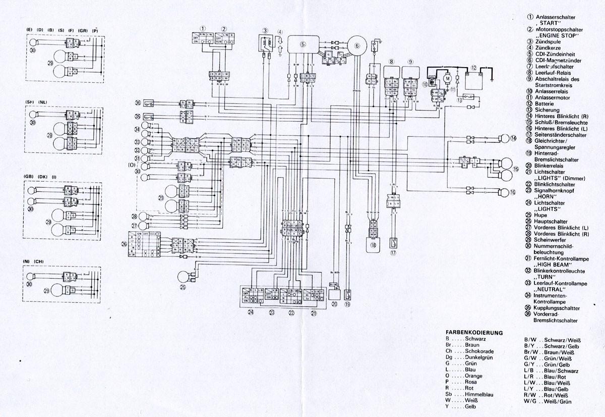 yamaha 600 wiring diagram wiring diagram m6