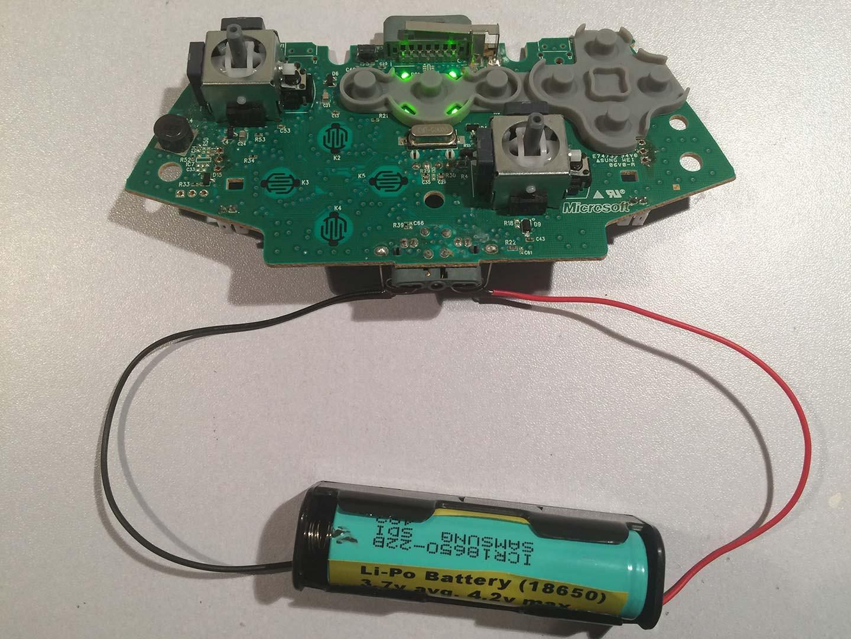 Li Po Test on Xbox 360 Controller Board