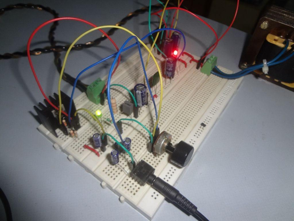 audio amplifier using tda2050 32 watt 8 steps