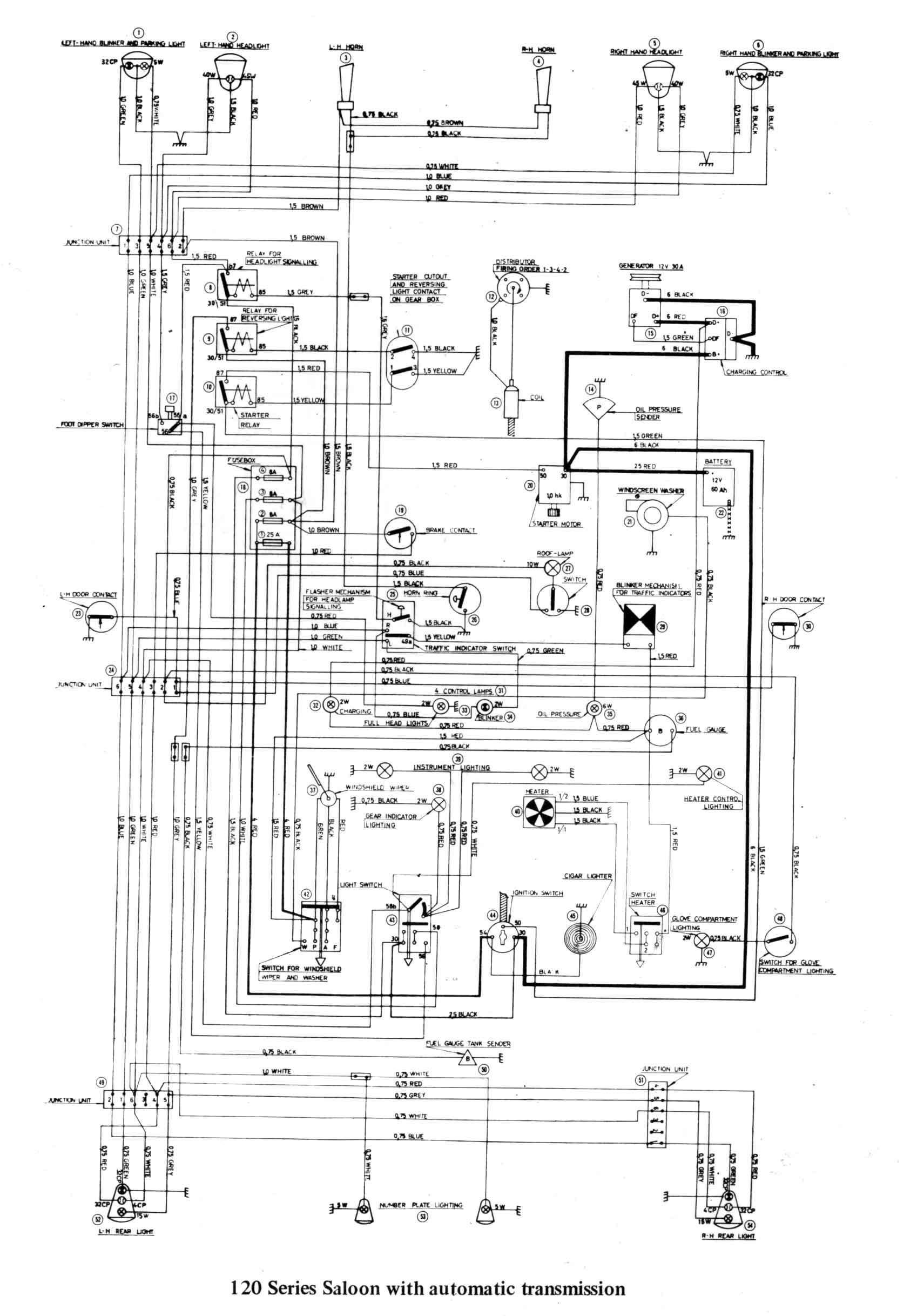 92 95 16L MFI engine wiring