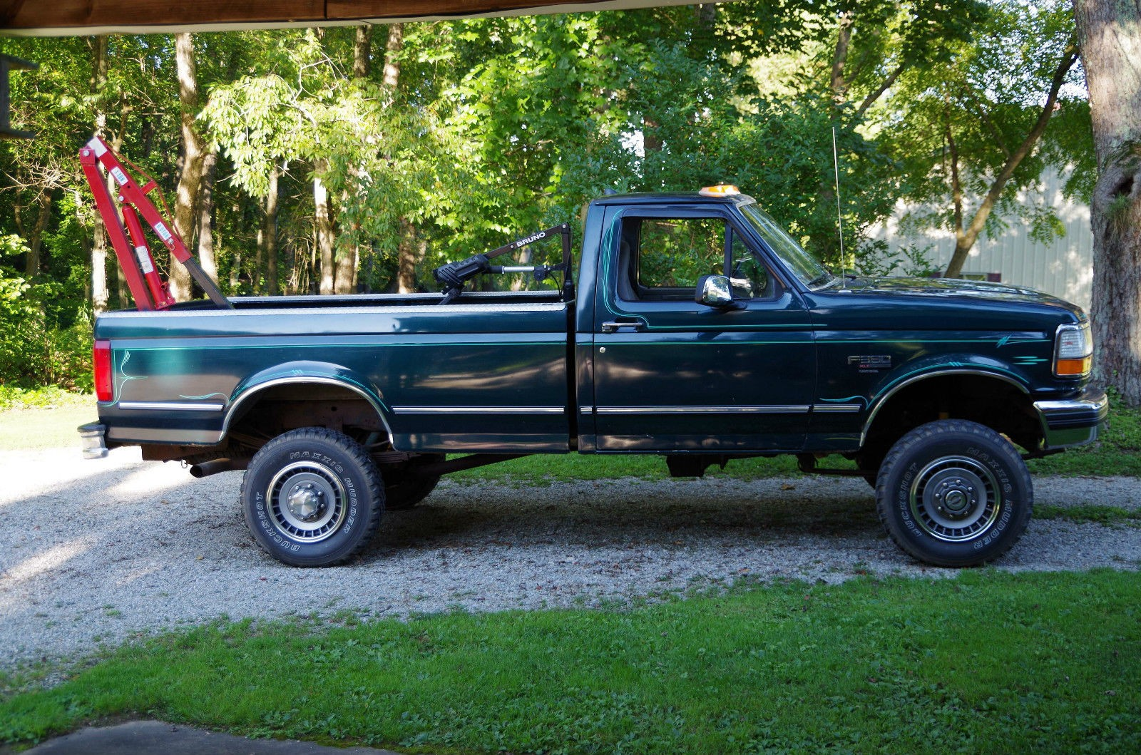 1994 ford f 350 xlt 73 liter turbo sel pickup truck 1 JPG
