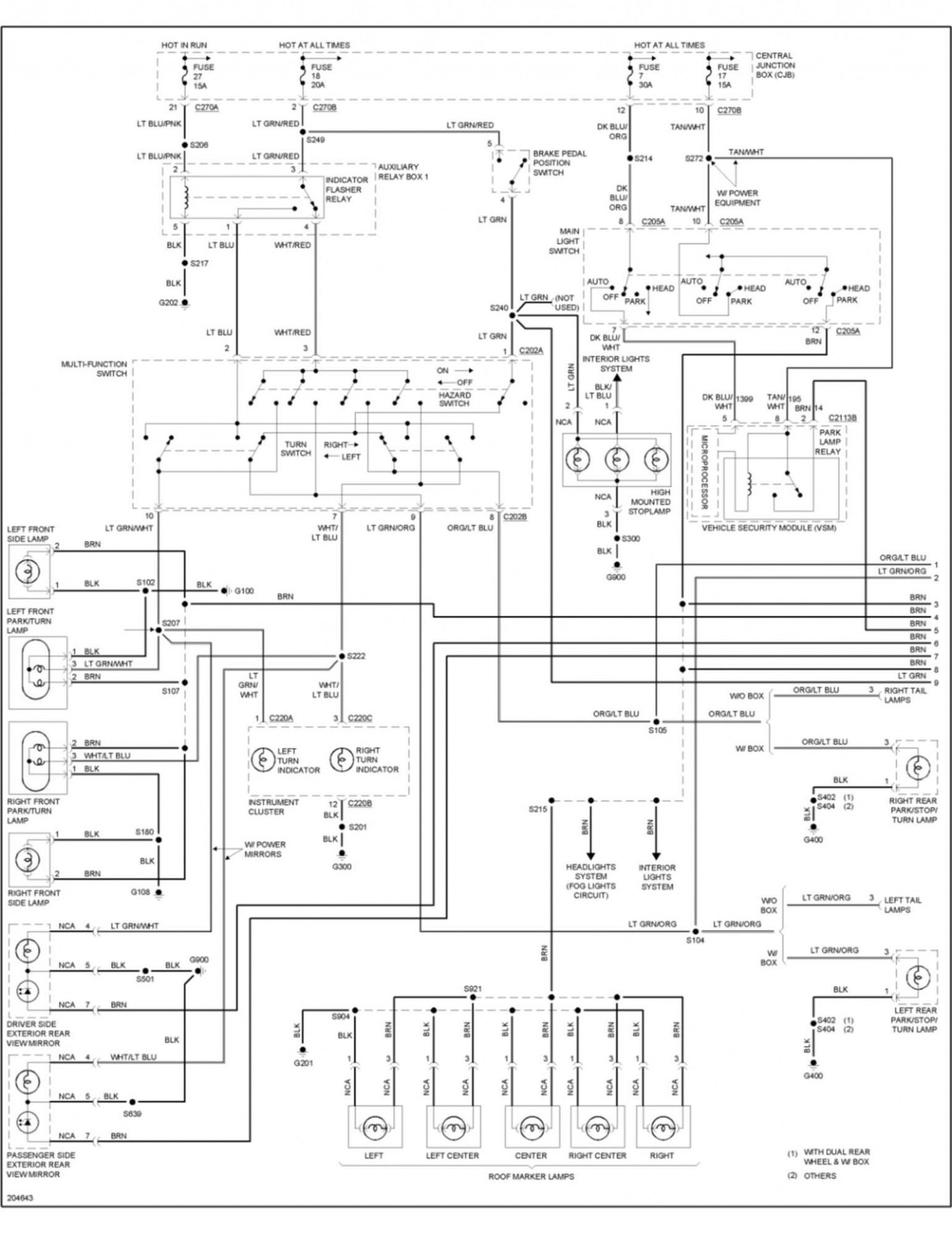 tail light wiring diagram 1999 ford f550 wire center e280a2 2005 ford f350 fuse box diagram