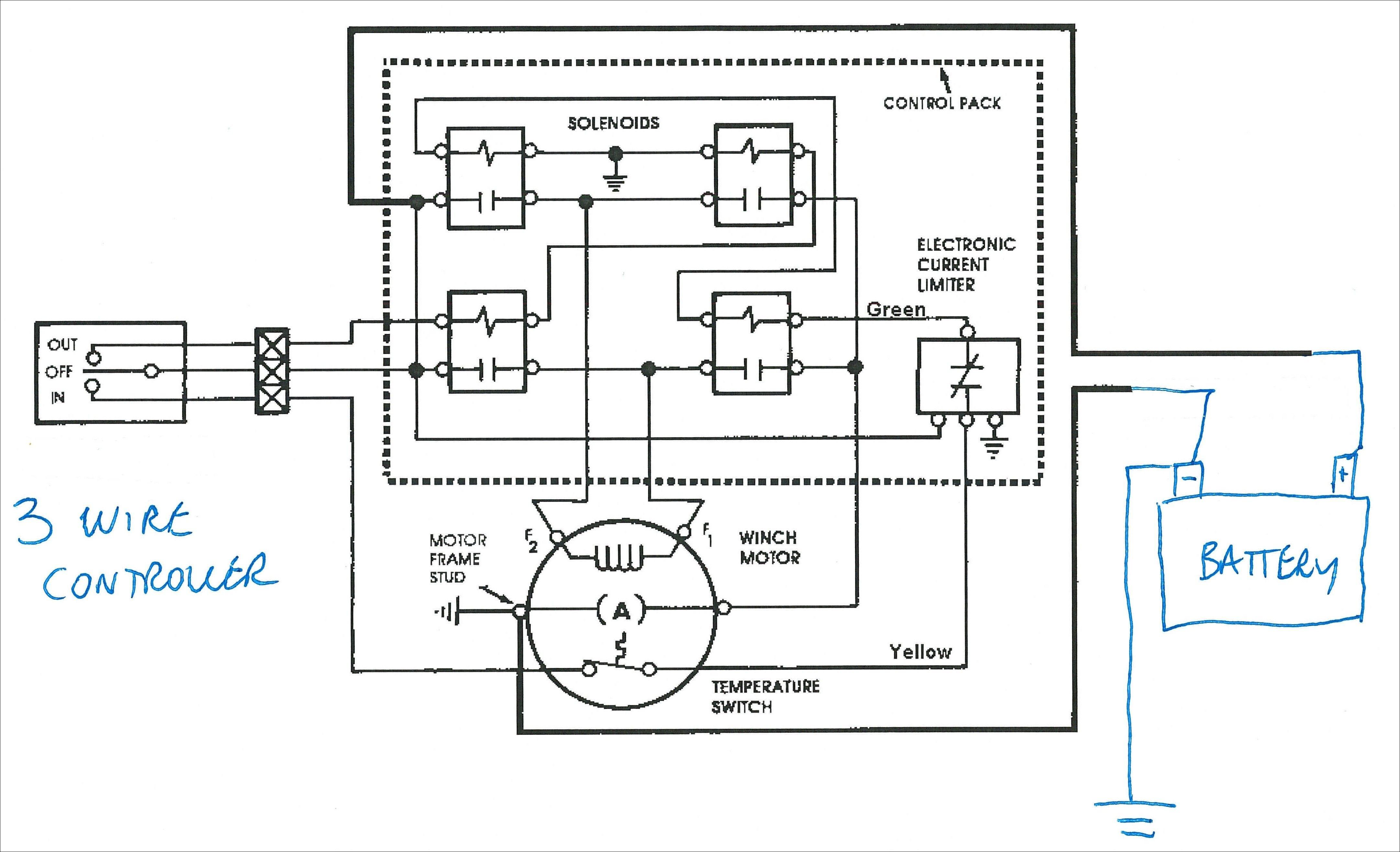 warn winch wiring diagram 4 solenoid unique best warn winch wiring