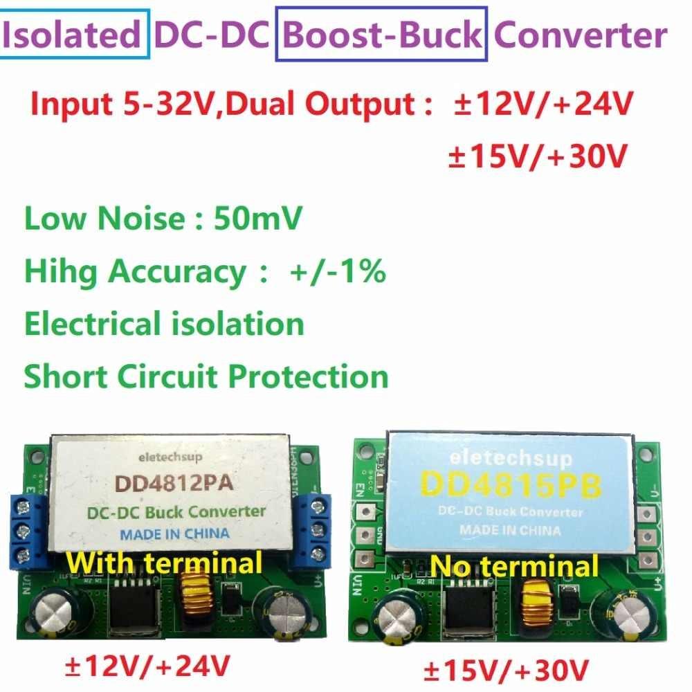 15W Isolated Dual Power Supply 5 32 to 12V 15V 24V 30V DC DC Boost Buck q50